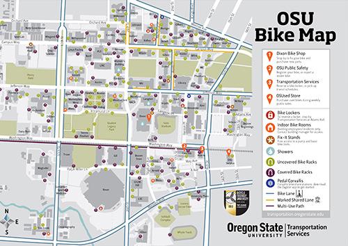 Oregon State University Map Biking | Finance and Administration | Oregon State University Oregon State University Map
