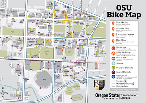 Kec Oregon State University Map on