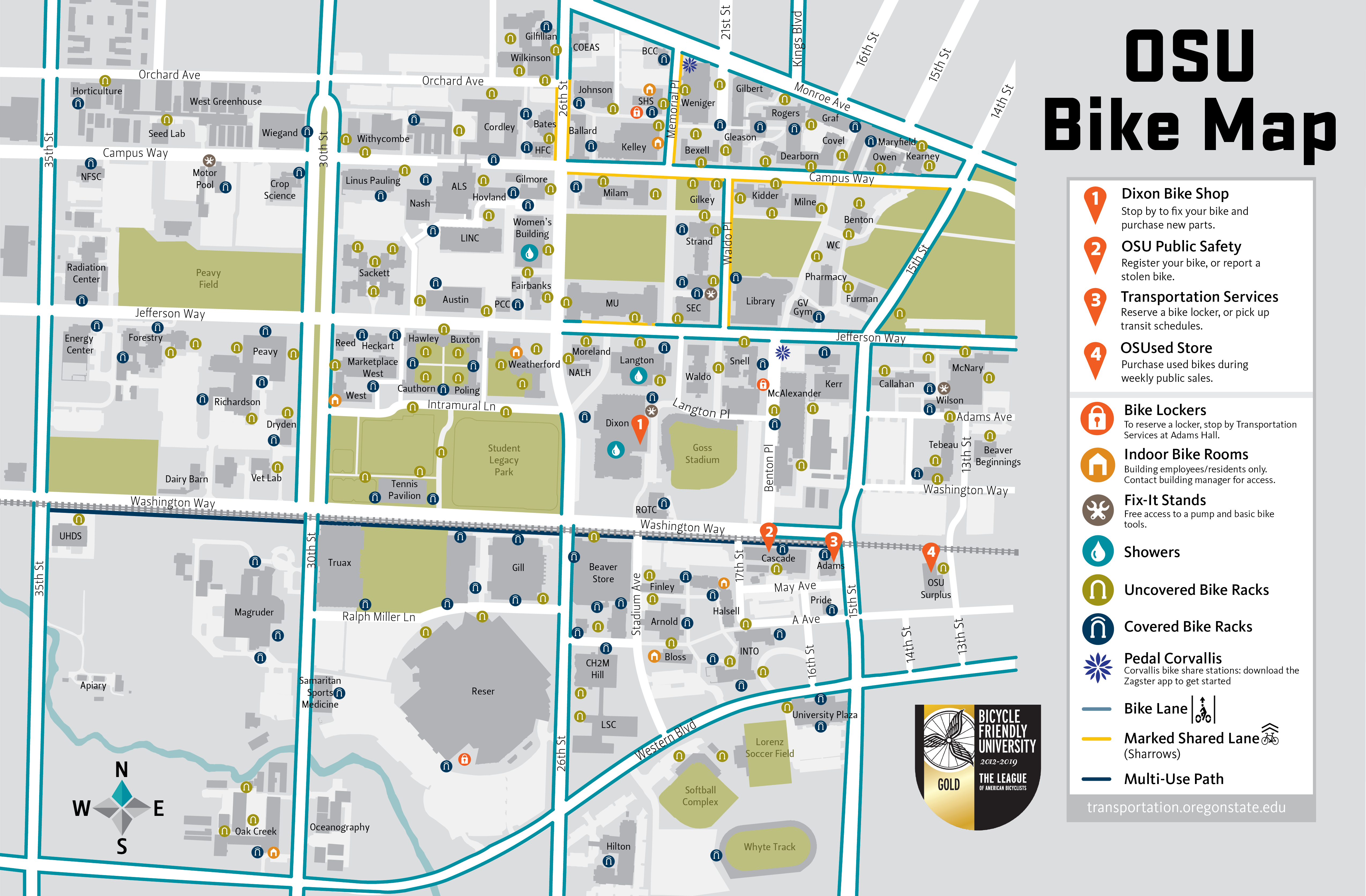 Bike Resource Map