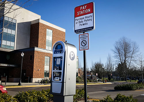 Parking   Finance and Administration   Oregon State University