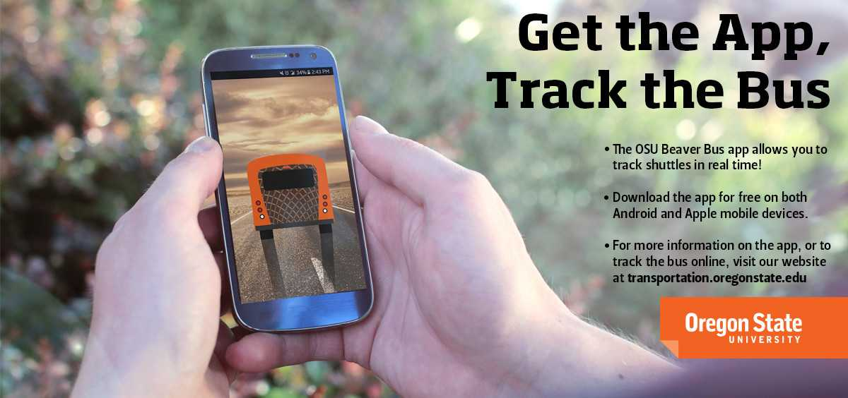 Download the Beaver Bus App and track the bus!