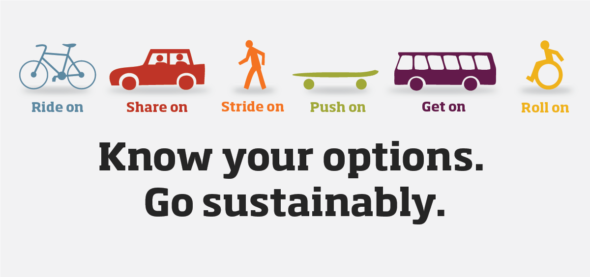 Know your options. Go sustainably.