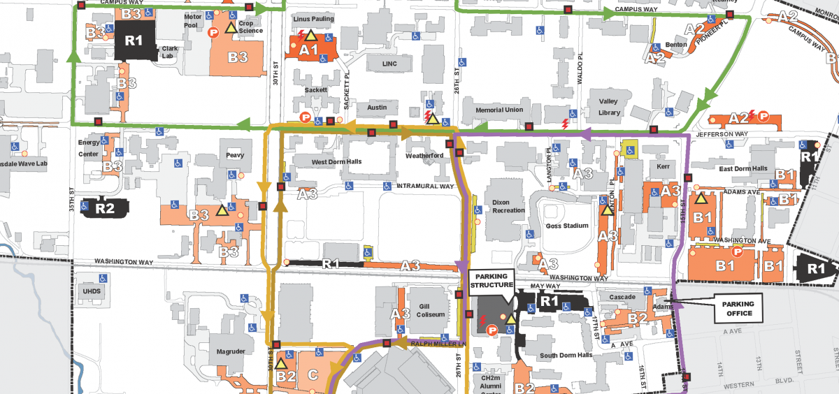 New OSU Shuttle Route