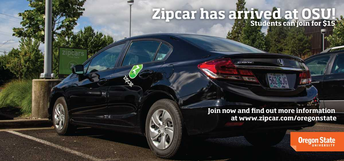 Zipcar has arrived at OSU! Visit www.zipcar.com/oregonstate to join now!
