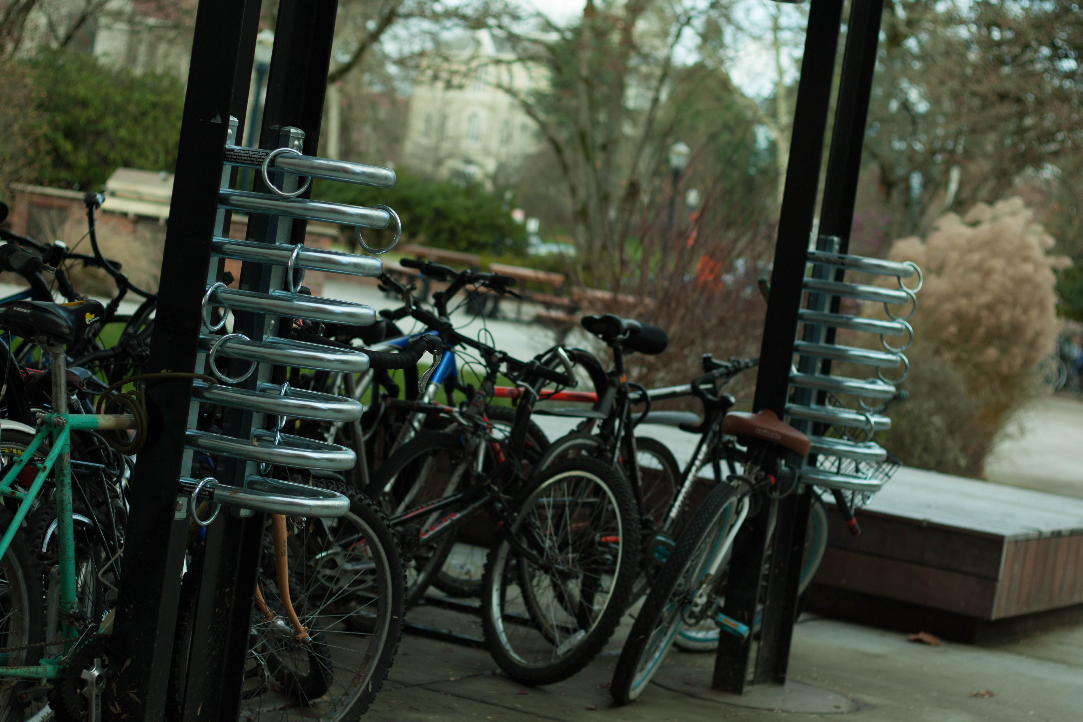 McNary Hall Skateboard Racks