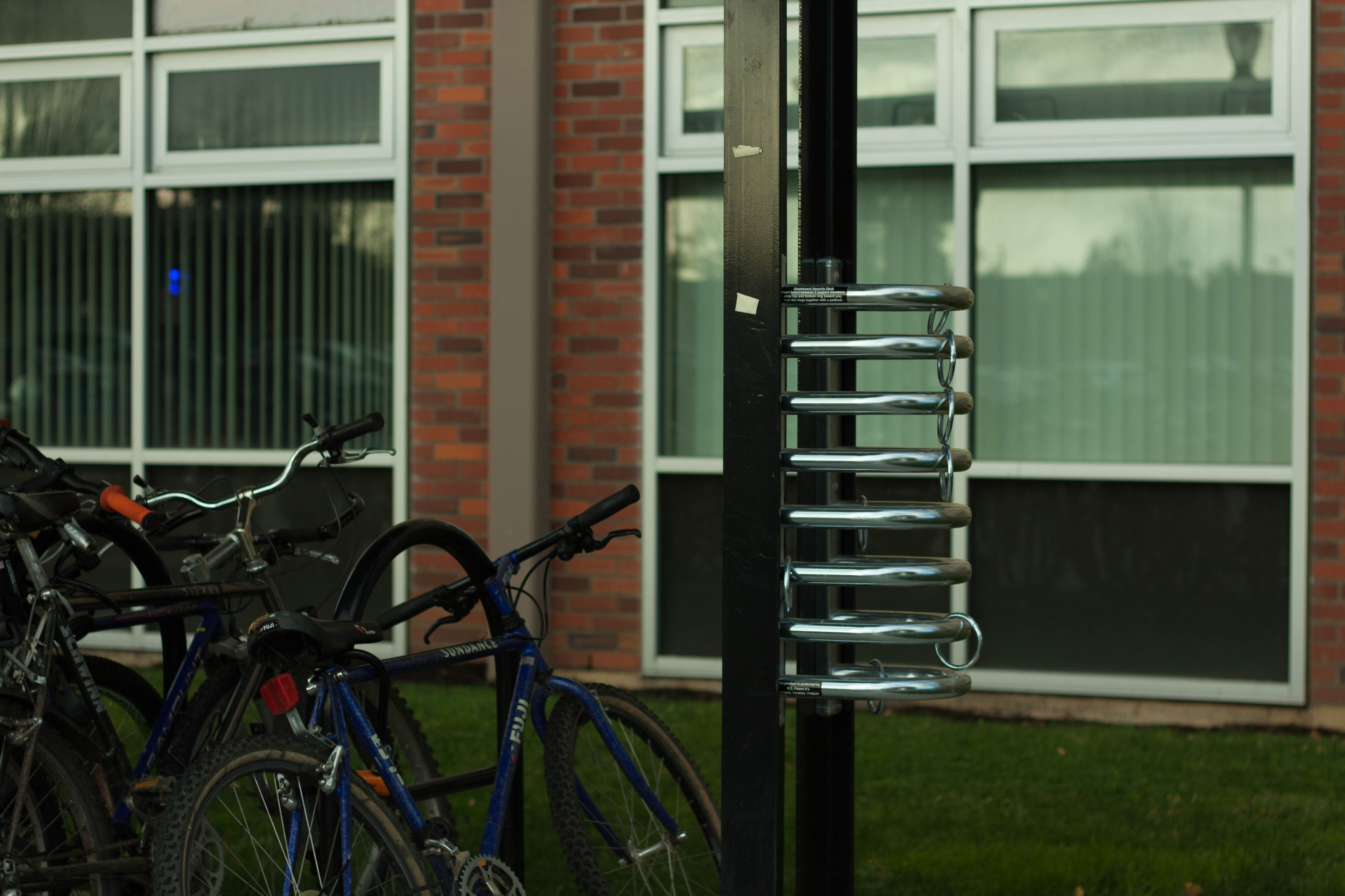 Wilson Hall Skateboard Racks