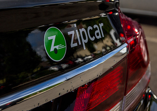Zipcar options on the Oregon Statecampus